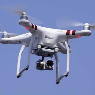 航空写真、動画の撮影のイメージ